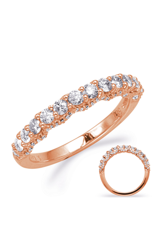 S Kashi & Sons Diamond Wedding band EN8035-B1RG product image