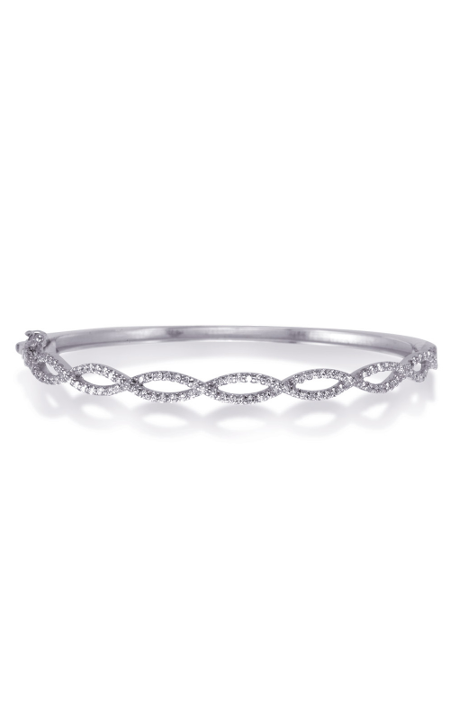 S Kashi & Sons Bangle Bracelet B4471WG product image