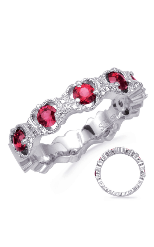 S Kashi & Sons Color Fashion ring C8057-RWG product image