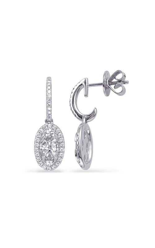 S Kashi & Sons Fashion Earrings E8049WG product image