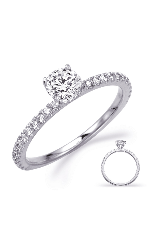 S Kashi & Sons Diamond Engagement ring EN8339-50WG product image