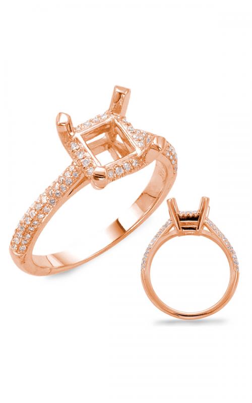 S Kashi & Sons Halo Engagement ring EN7157-1SQRG product image