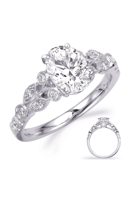 Deutsch & Deutsch Bridal Vintage Engagement ring EN7959-8X6MOVWG product image