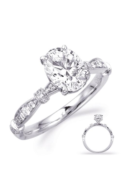 S Kashi & Sons Vintage Engagement ring EN8152-8X6MOVWG product image