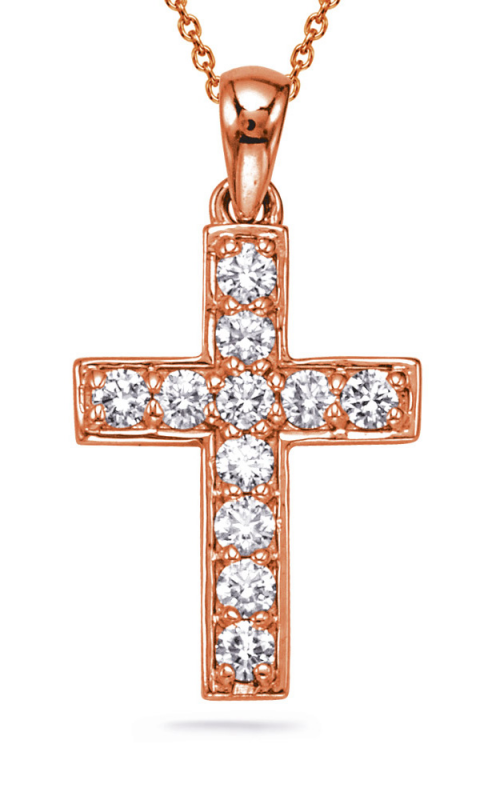 OPJ Signature Crosses Necklace P2242RG product image