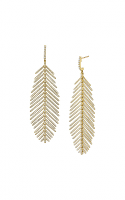 Sloane Street Jewelry Earrings SS-E219T-WD-Y product image