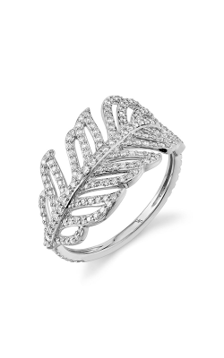 Sloane Street Jewelry Fashion ring SS-R176T-WD-W product image