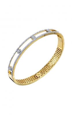 Sloane Street Jewelry Bracelet SS-B005L-WDCB-Y product image