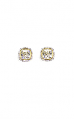 Sloane Street Jewelry Earrings SS-E009-WT-WDCB-Y product image