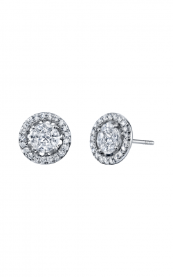 Sloane Street Jewelry Earrings SS-E008-2-WD-W product image