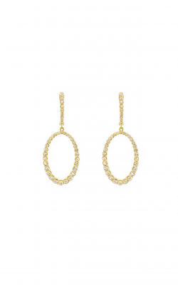 Sloane Street Jewelry Earrings SS-E013B-WS-Y product image