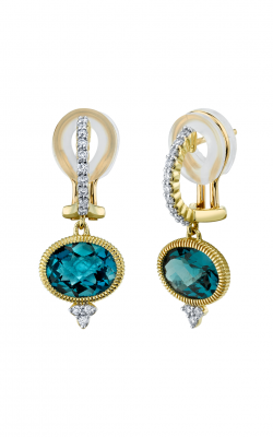 Sloane Street Jewelry Earrings SS-E003C-LB-WDCB-Y product image