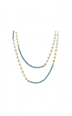 Sloane Street Jewelry Necklace SS-CH006T-AP-WT-Y product image