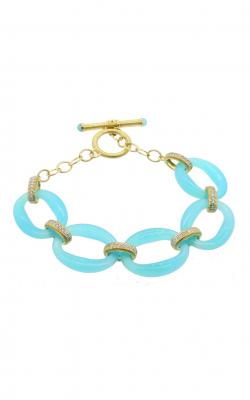 Sloane Street Jewelry Bracelet SS-B013-AC-WDCB-Y product image