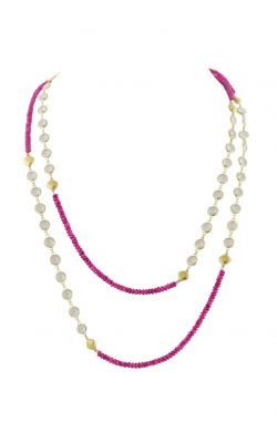 Sloane Street Jewelry Necklace SS-CH006T-PS-WT-Y product image