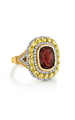 Sloane Street Jewelry Fashion ring SS-R165T-2-RODO-WDCB-Y product image