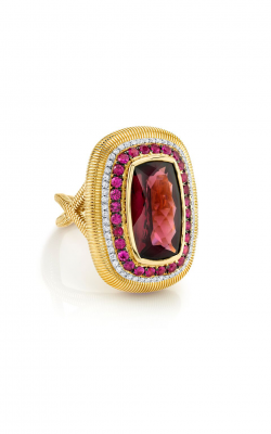 Sloane Street Jewelry Fashion ring SS-R187T-RG-PS-WDCB-Y product image