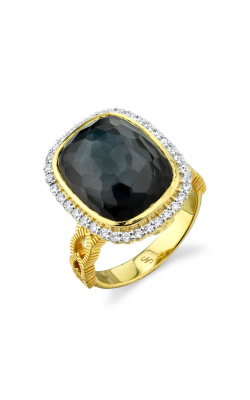Sloane Street Jewelry Fashion Ring SS-R002E-ETT-WDCB-Y product image