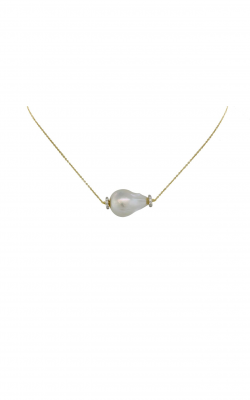 Sloane Street Jewelry Necklace SS-CH015D-WP-WDCB-Y product image