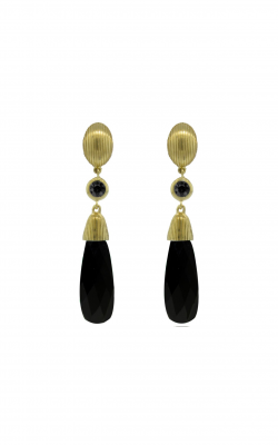 Sloane Street Jewelry Earrings SS-E043-ONX-BKD-Y product image