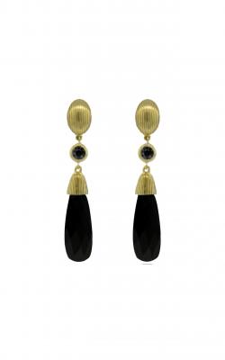 Sloane Street Jewelry Earrings SS-E043-ONX-BKD-Y product image