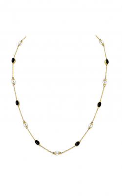 Sloane Street Jewelry Necklace SS-CH003T-ONX-WP-Y product image