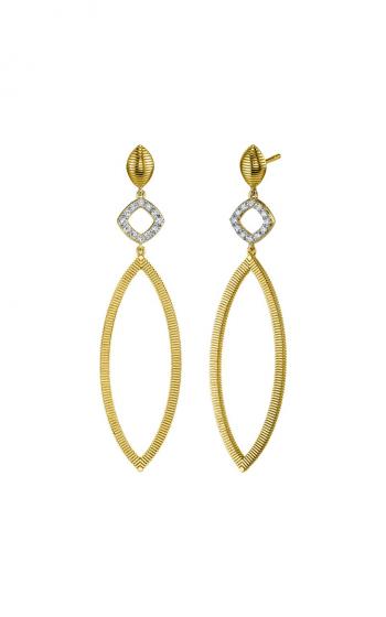 Sloane Street Jewelry Earrings SS-E006E-WDCB-Y product image