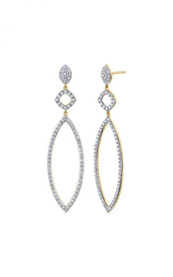 Sloane Street Jewelry Earrings SS-E021E-WDCB-Y product image
