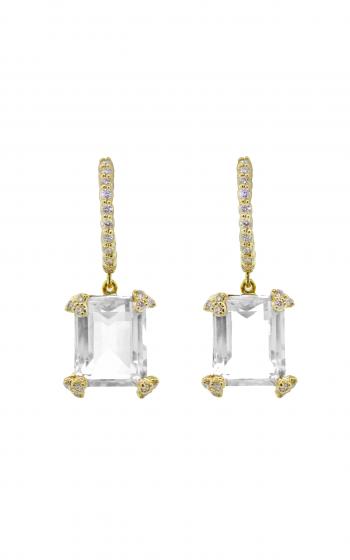 Sloane Street Jewelry Earrings SS-E004C-WT-WD-Y product image