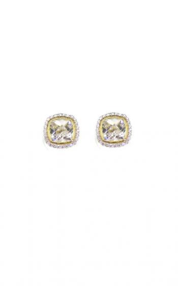 Sloane Street Jewelry Earrings SS-E009-WT-WDCB-Y product image