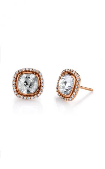 Sloane Street Jewelry Earrings SS-E009-WT-WD-R product image