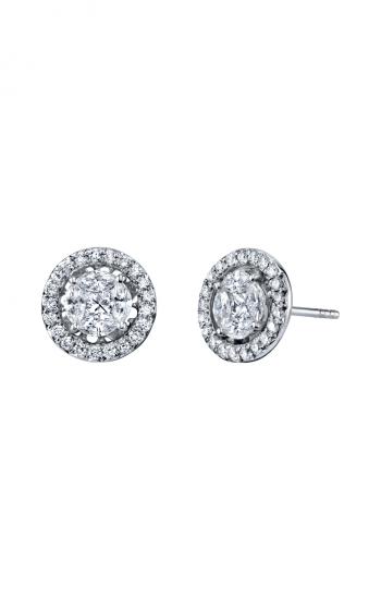 Sloane Street Jewelry Earrings SS-E008-2-WD-W product image
