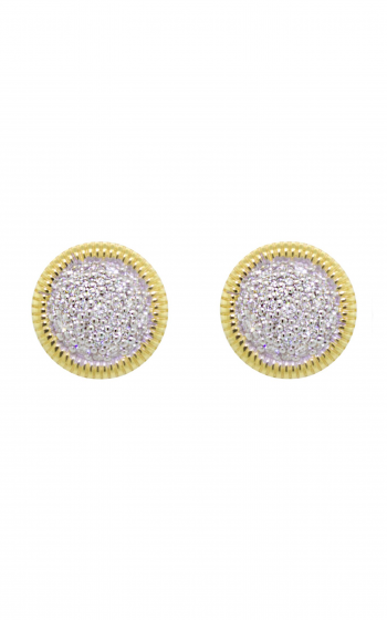 Sloane Street Jewelry Earrings SS-E006C-WDCB-Y product image