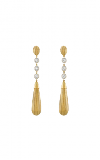 Sloane Street Jewelry Earrings SS-E021-WDCB-Y product image