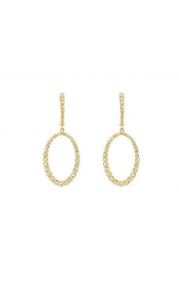 Sloane Street Jewelry Earrings SS-E013B-WS-Y product image