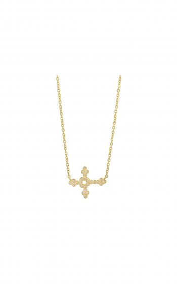 Sloane Street Jewelry Necklace SS-P011D-WD-Y product image