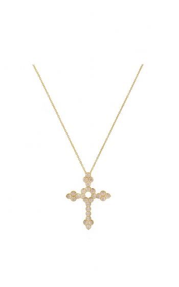 Sloane Street Jewelry Necklace SS-P001D-WD-Y product image