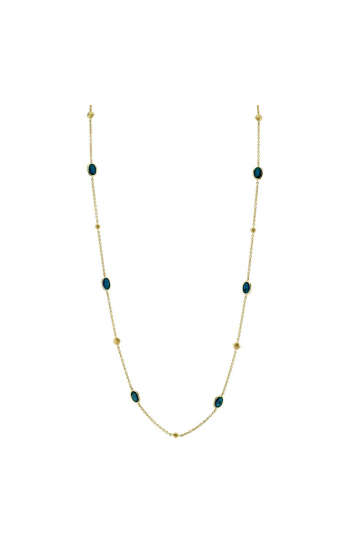 Sloane Street Jewelry Necklace SS-CH020E-LB-Y product image