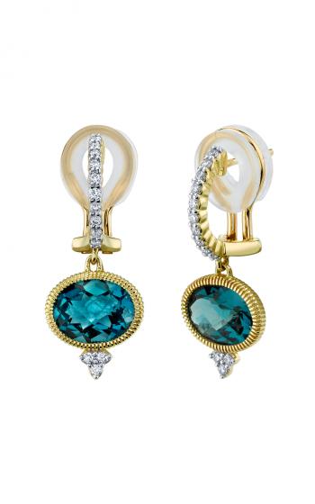 Sloane Street Jewelry Earrings SS-E003C-LB-WDCB-Y product image