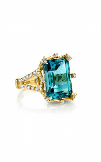 Sloane Street Jewelry Fashion ring SS-R012C-LB-WD-Y product image