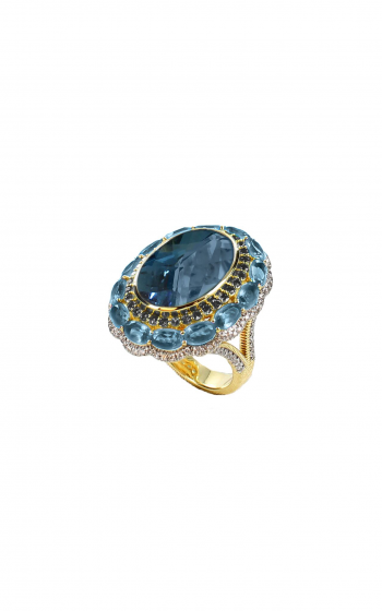 Sloane Street Jewelry Fashion ring SS-R175T-LB-BDBR-SWB-WDCB-Y product image