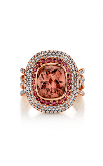 Sloane Street Jewelry Fashion ring SS-R167T-PZ-OS-WD-R product image