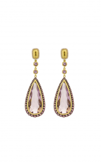 Sloane Street Jewelry Earrings SS-E203T-AMY-PPS-WDCB-Y product image