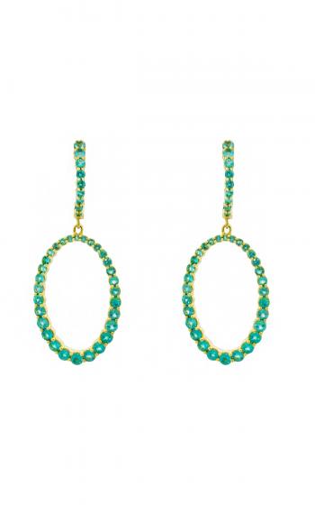 Sloane Street Jewelry Earrings SS-E013B-PA-Y product image