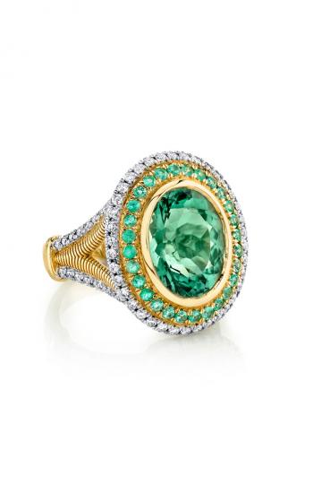 Sloane Street Jewelry Fashion ring SS-R159T-BGT-PA-WDCB-Y product image