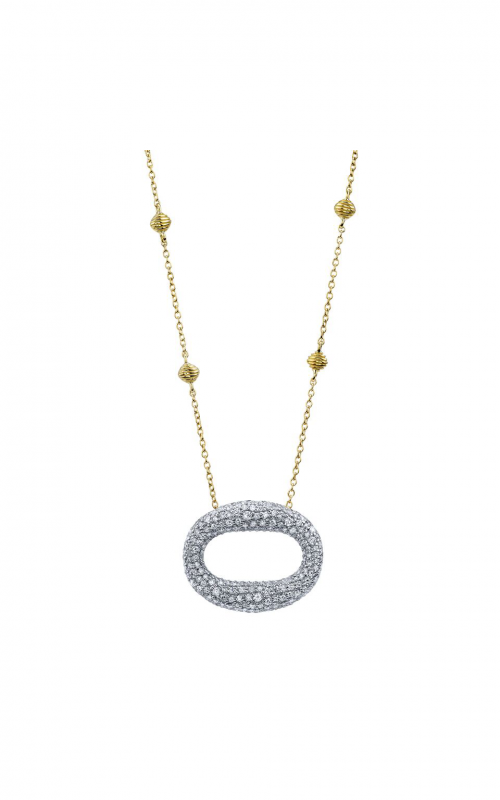 Sloane Street Jewelry Necklace SS-CH016E-WDCB-Y product image