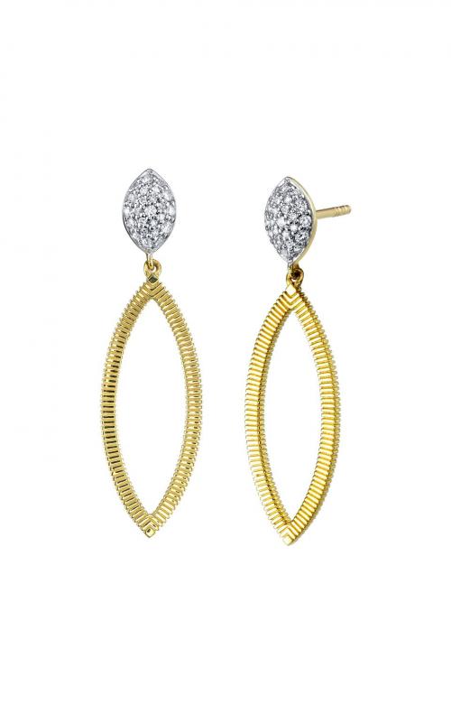 Sloane Street Jewelry Earrings SS-E005E-WDCB-Y product image