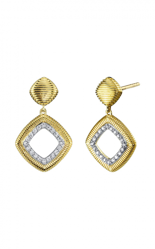 Sloane Street Jewelry Earrings SS-E009E-WDCB-Y product image