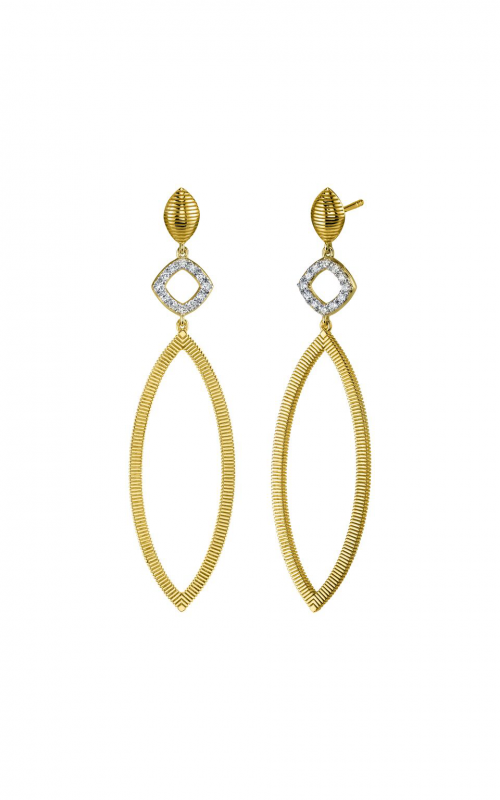 Sloane Street Jewelry Earrings SS-E006E-WDCB-Y product image