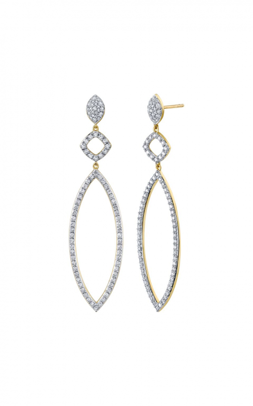 Sloane Street Jewelry Earrings SS-E021E-WDCB-Y product image